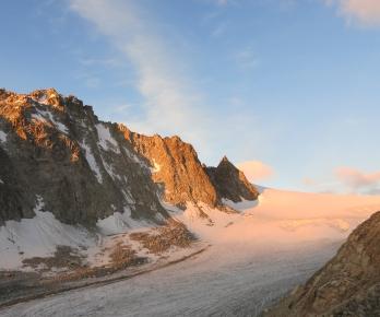 Glaciers d'Orny et Portalet