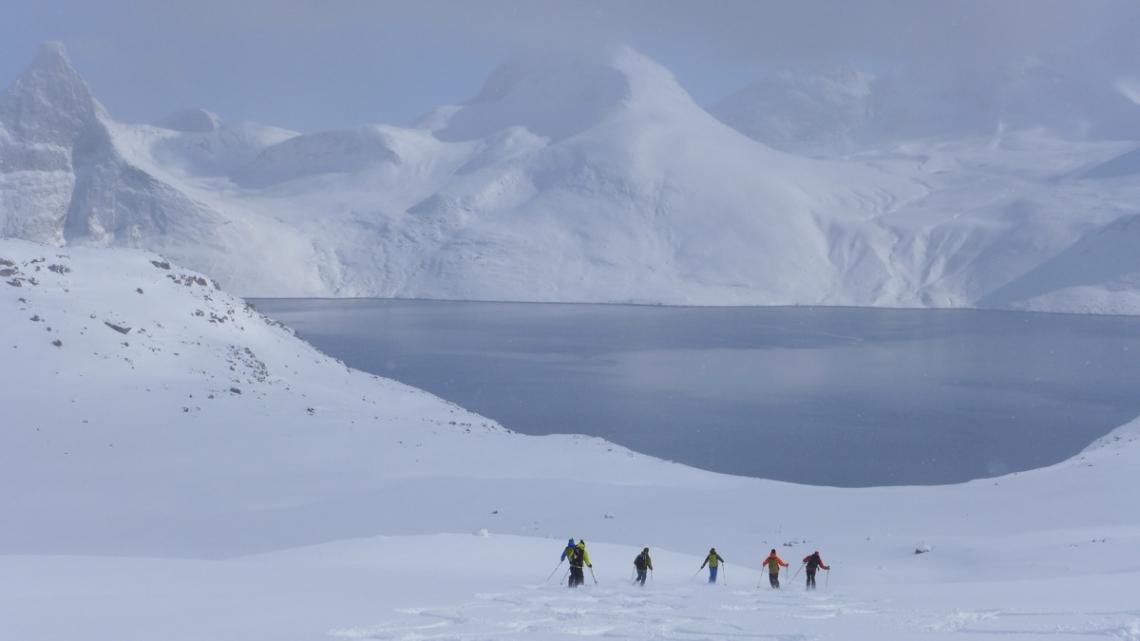 montagne groenland