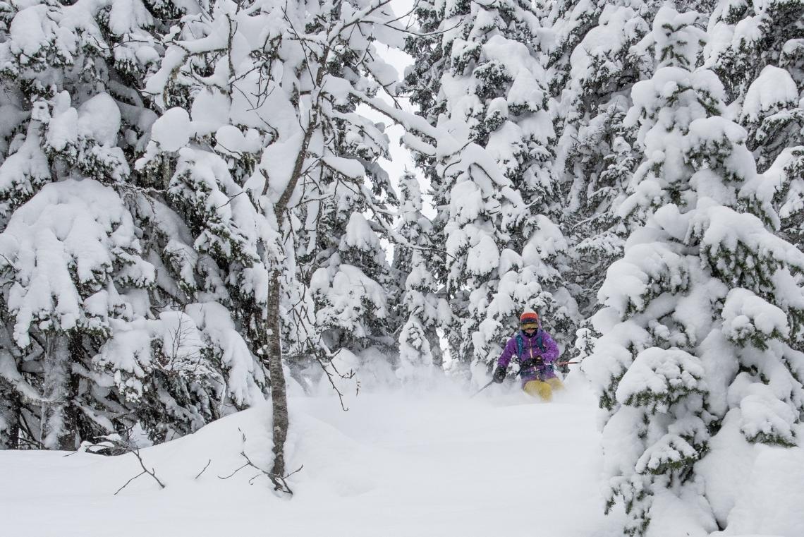 skiing in siberia